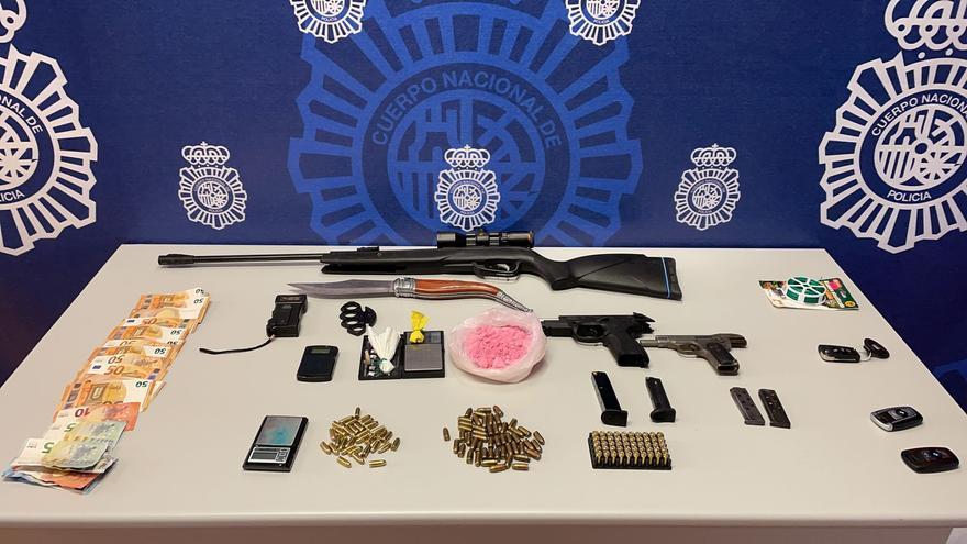 Dos detenidos en Elche por la distribución de cocaína rosa, una peligrosa droga de diseño