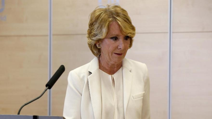 La UCO apunta que el PP de Aguirre camufló al menos 1,7 millones de euros