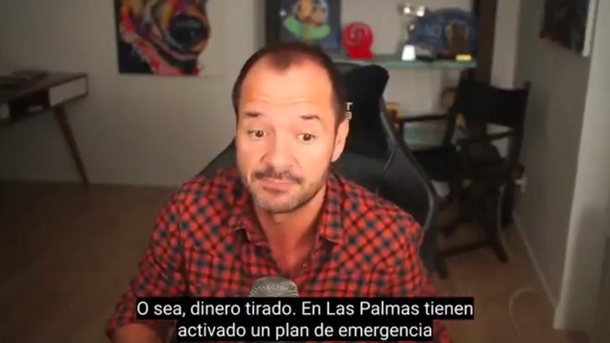 Ángel Martín confunde a La Palma y pide disculpas