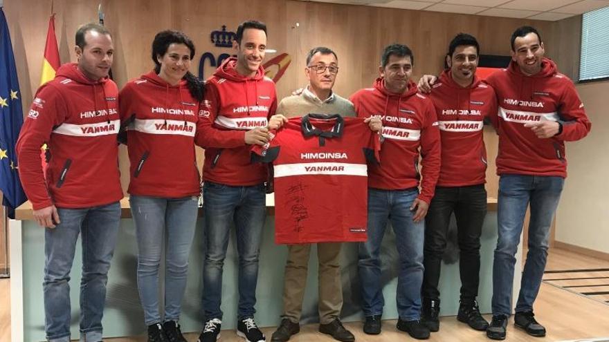 El CSD rep Gerard Farrés i el felicita pel cinquè lloc al Dakar