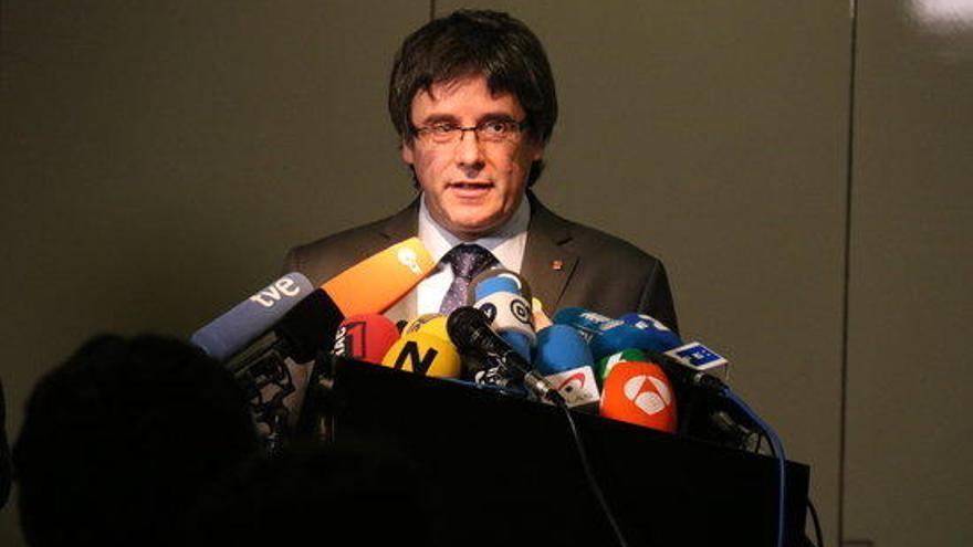 """Puigdemont: Un Govern """"modern"""" que estarà al servei de societat """"oberta"""""""