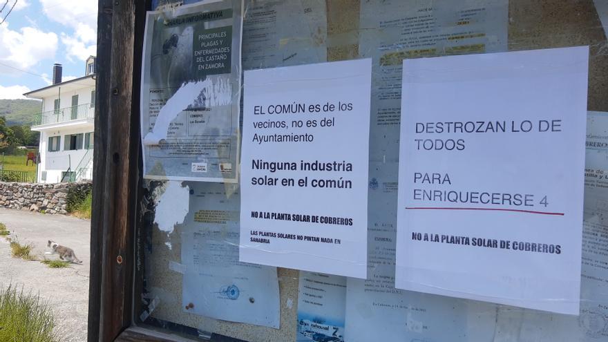 Convocan una manifestación en Zamora contra las renovables