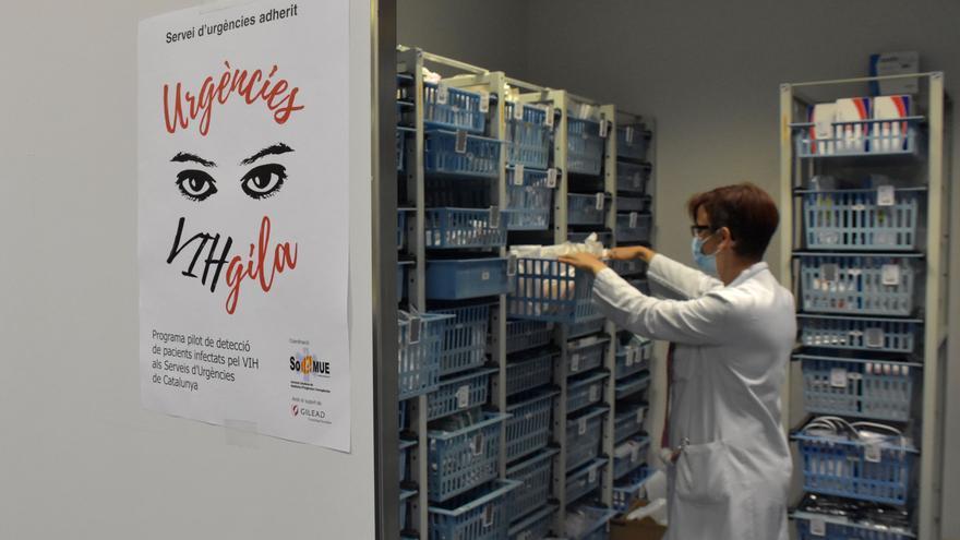 Althaia participa en un programa per detectar infectats per VIH a urgències