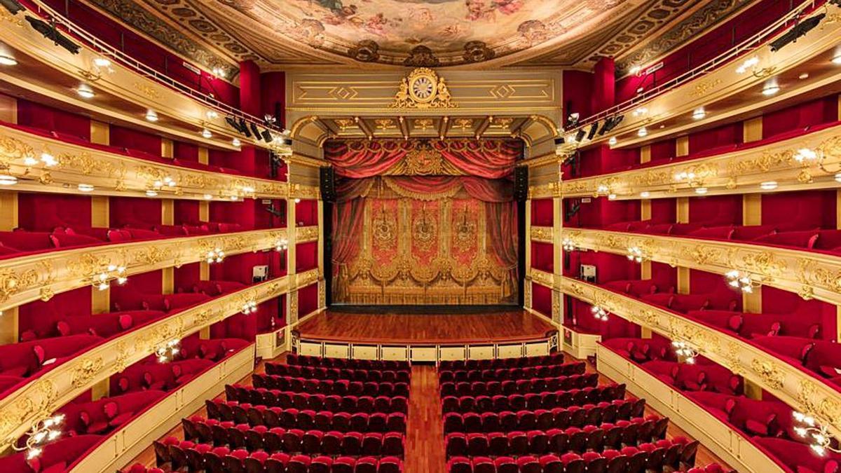 Vista de la Sala Gran del Teatre Principal.