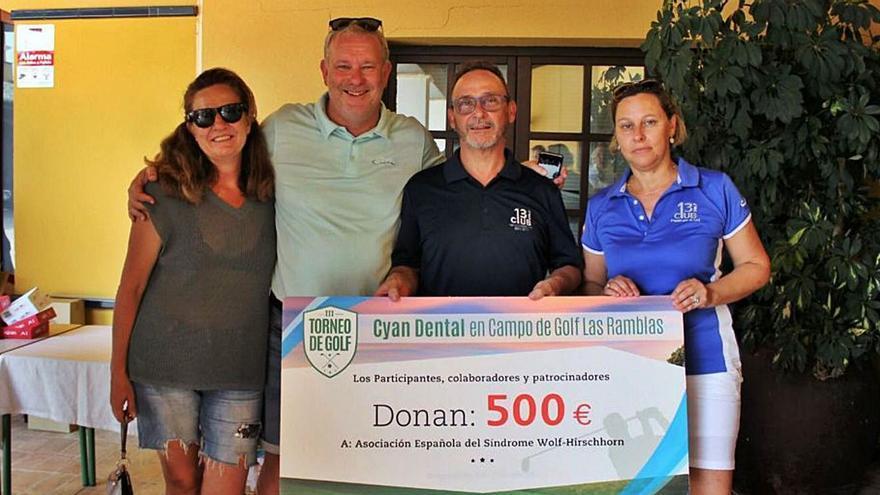 Cyan Dental vuelve a apostar por el golf y la solidaridad en su cuarta edición