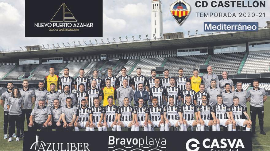 Consigue el póster oficial del CD Castellón con 'Mediterráneo' y Nuevo Puerto Azahar