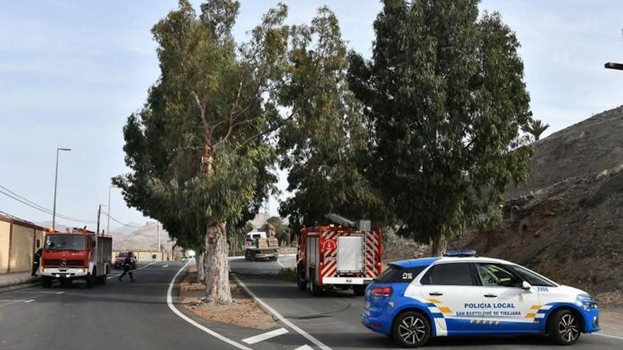 Incidencias en Gran Canaria por el viento (04/02/2020)