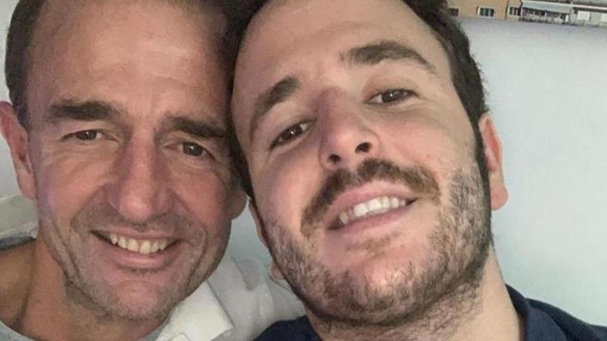 """Alessandro Lequio a Álex: """"Es el mayor honor ser tu padre"""""""