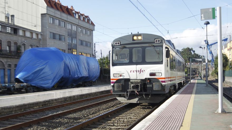 La conexión en tren Vigo-Tui seguirá en el letargo
