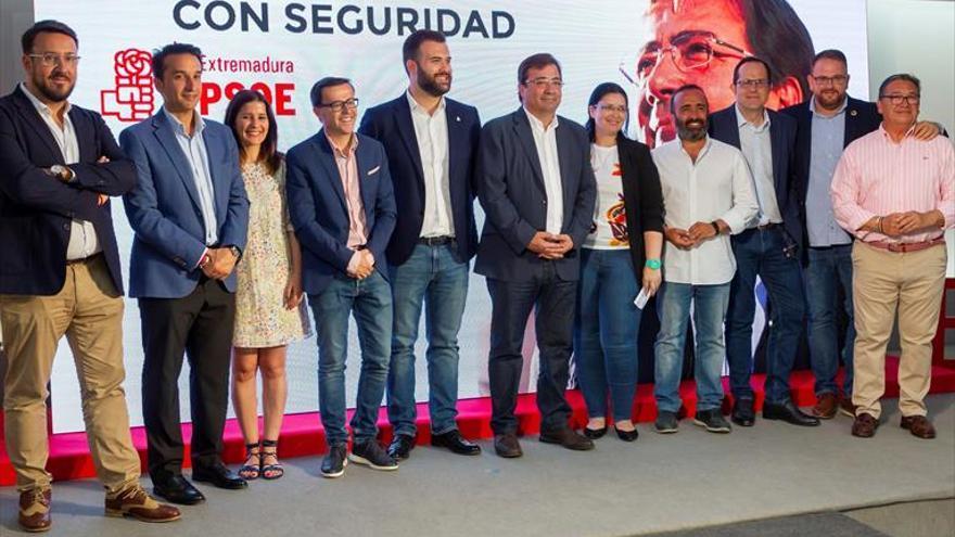 Vara ofrece a Cs formar «gobiernos conjuntos» en Cáceres y Badajoz