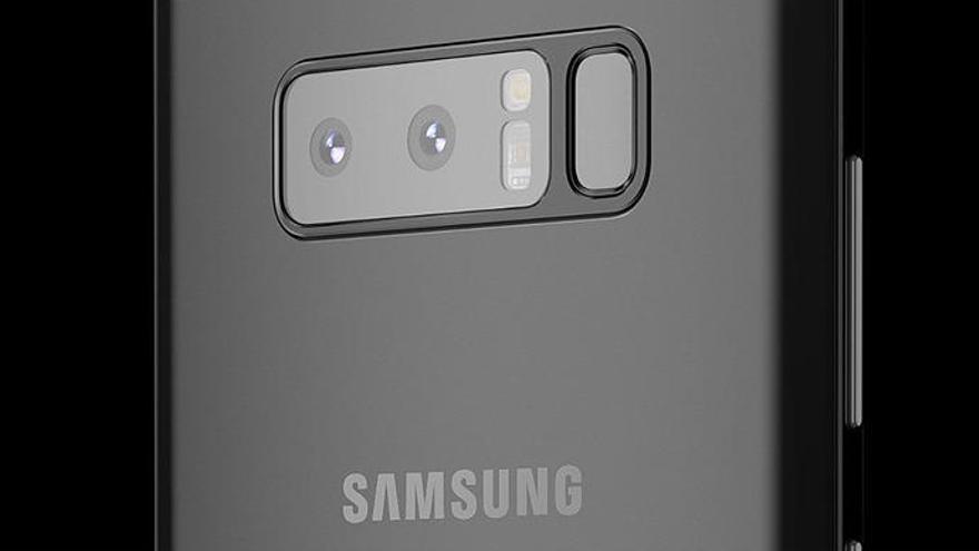 El Samsung Galaxy Note 9 moverá el lector de huellas fuera del módulo de la cámara