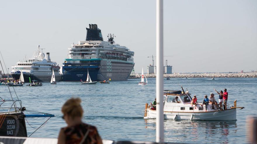 Turismo asegura que barcos más grandes paliarán el descenso de los cruceros en Alicante 2018