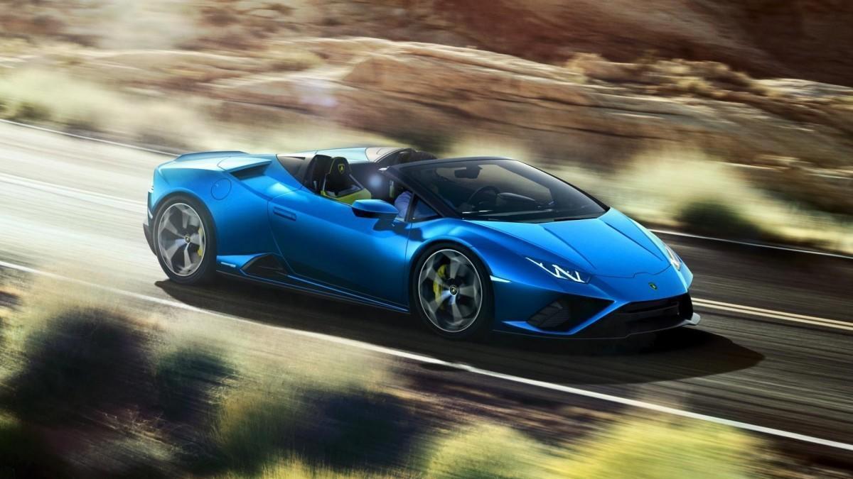 Así es el increíble Lamborghini Huracán EVO RWD Spyder