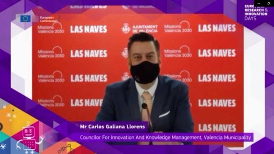 """Un concejal de Valencia hace """"playback"""" en su intervención en inglés ante la CE"""