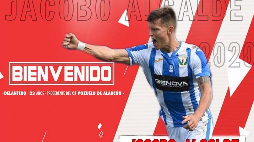 Jacobo Alcalde, nuevo jugador del Zamora CF