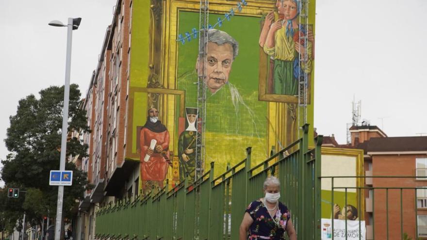 VÍDEO | Los murales de Zamora, de moda en Televisión Española