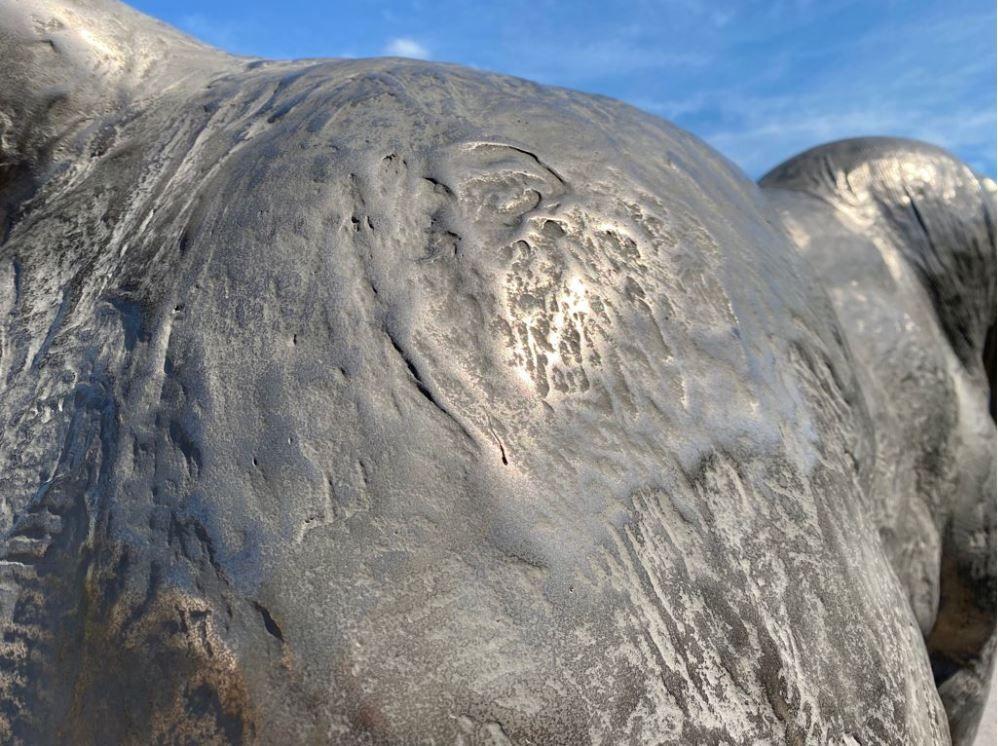 La nueva vida de la escultura del toro de la Vall d'Uixó