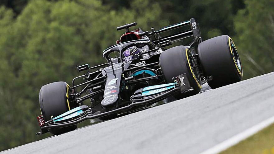 Lewis Hamilton, el més ràpid a Spielberg