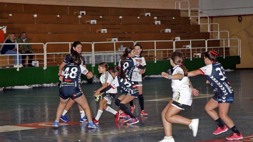 Los equipos alevines y cadetes femeninos ya están en marcha