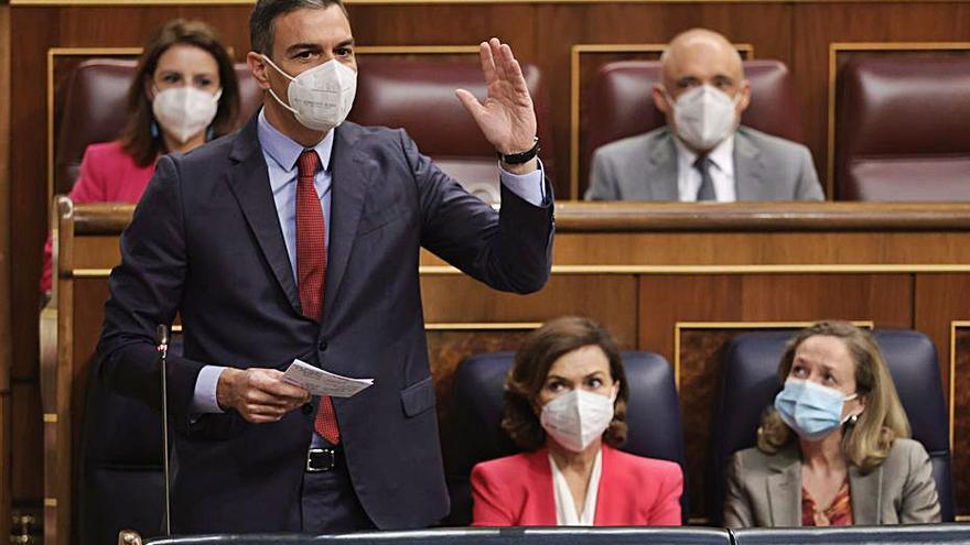 Sánchez ofereix diàleg a Aragonès però rebutja l'autodeterminació