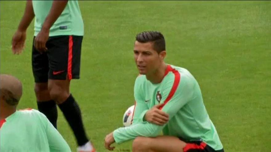 Cristiano Ronaldo estrena nueva imagen de cara a la semifinal