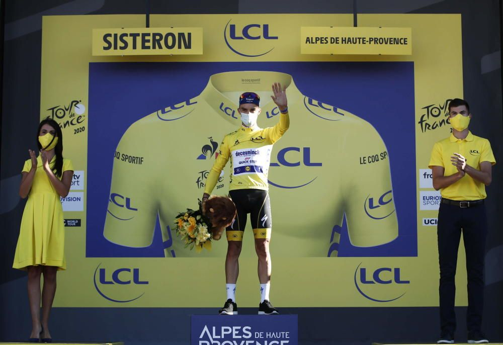 Tercera etapa del Tour de Francia (Niza - Sisteron)