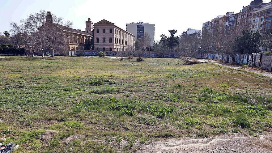 Un eje verde conectará el futuro jardín de Jesuitas, el Botánico y las Hespérides