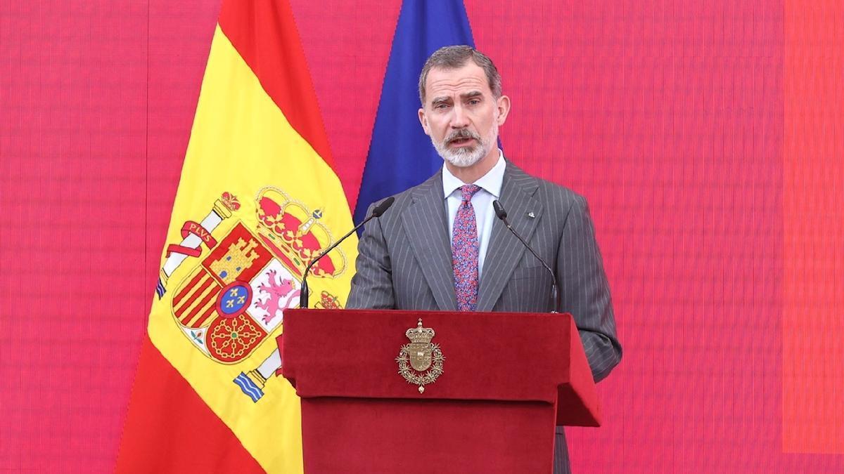 El rey Felipe VI, en un acto reciente