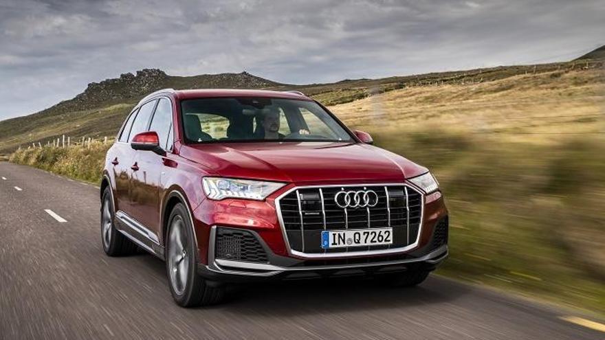 Audi renueva el Q7 y llegará a España a mediados de septiembre
