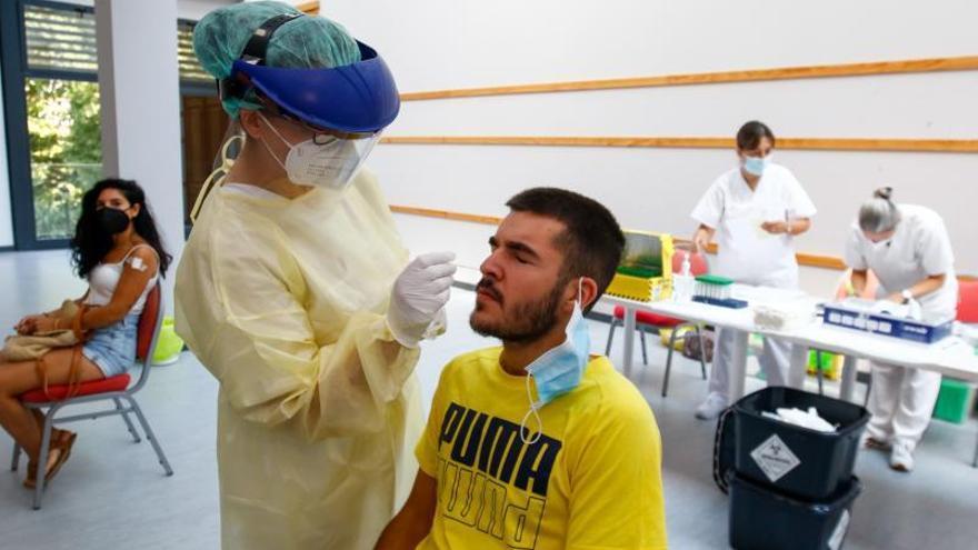 El cribado a 266 vecinos de Catoira se salda sin ningún positivo en coronavirus