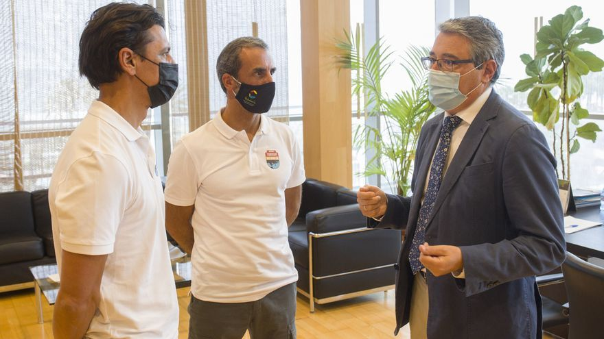 Dos malagueños recorrerán el litoral andaluz en el Desafío Inclusivo 3D con el impulso de la Diputación