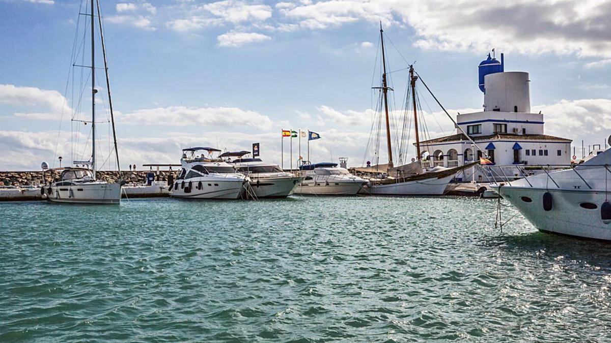 Puerto deportivo de la Duquesa, en Manilva.