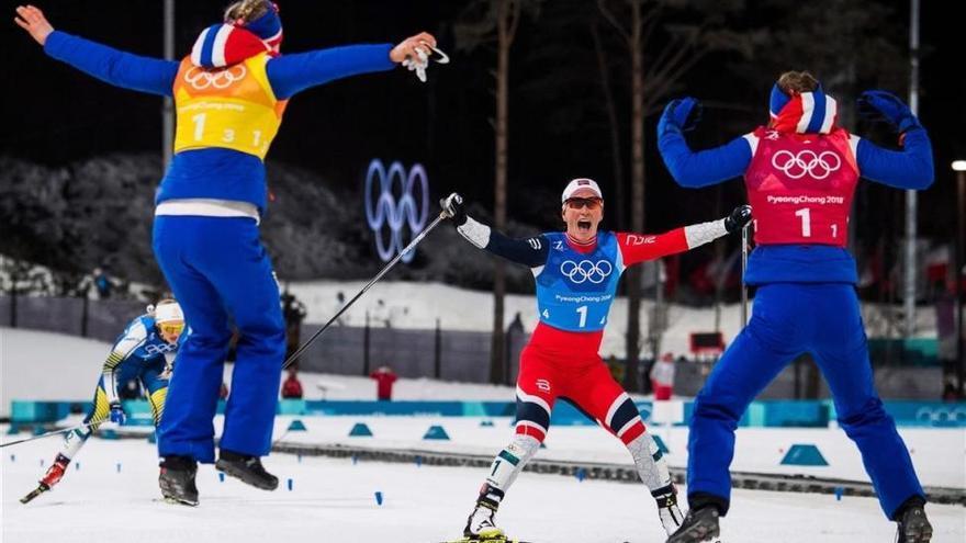 Los triunfadores de los Juegos Olímpicos de Invierno de Pyeonchang