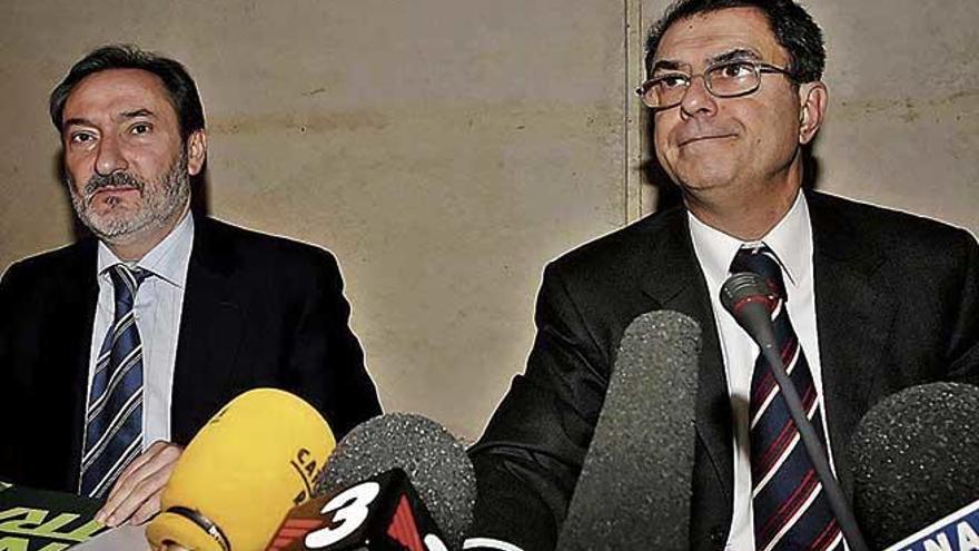 El juez abre juicio contra  la excúpula de Sa Nostra
