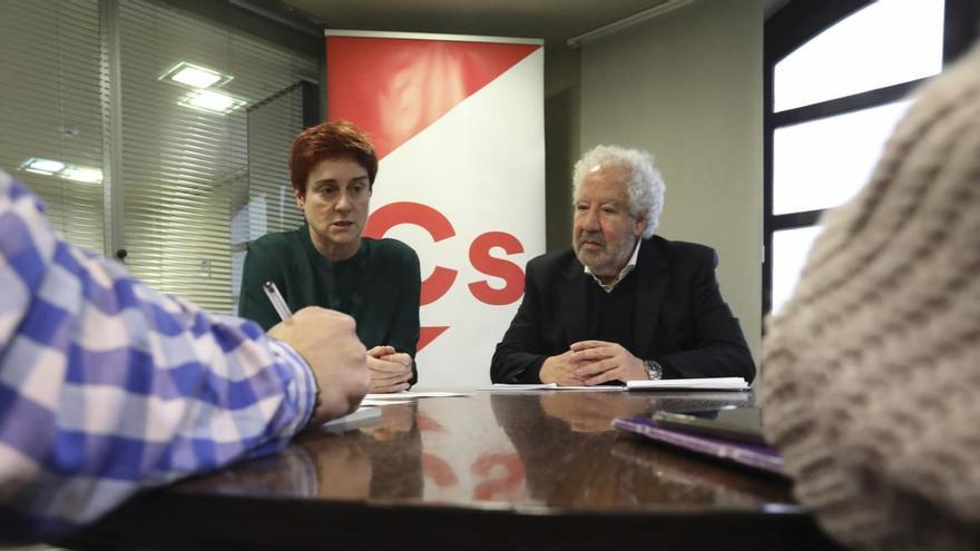 Ciudadanos retira a Carmen Soberón de la portavocía municipal y asume el puesto Javier Vidal