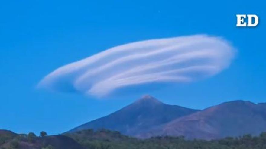 Impresionante time-lapse del sombrero del Teide