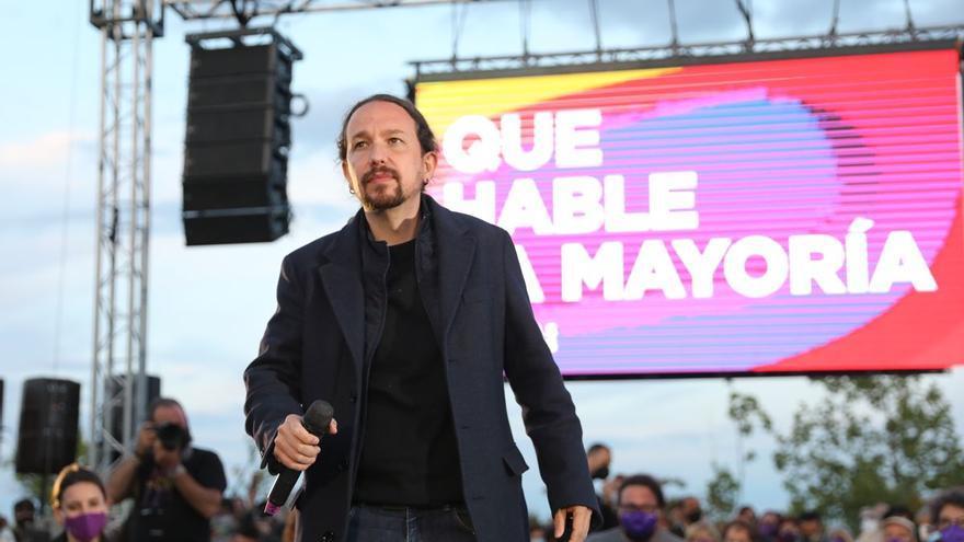 Iglesias reaparece con tensiones en la coalición y Yolanda Díaz pidiendo paz