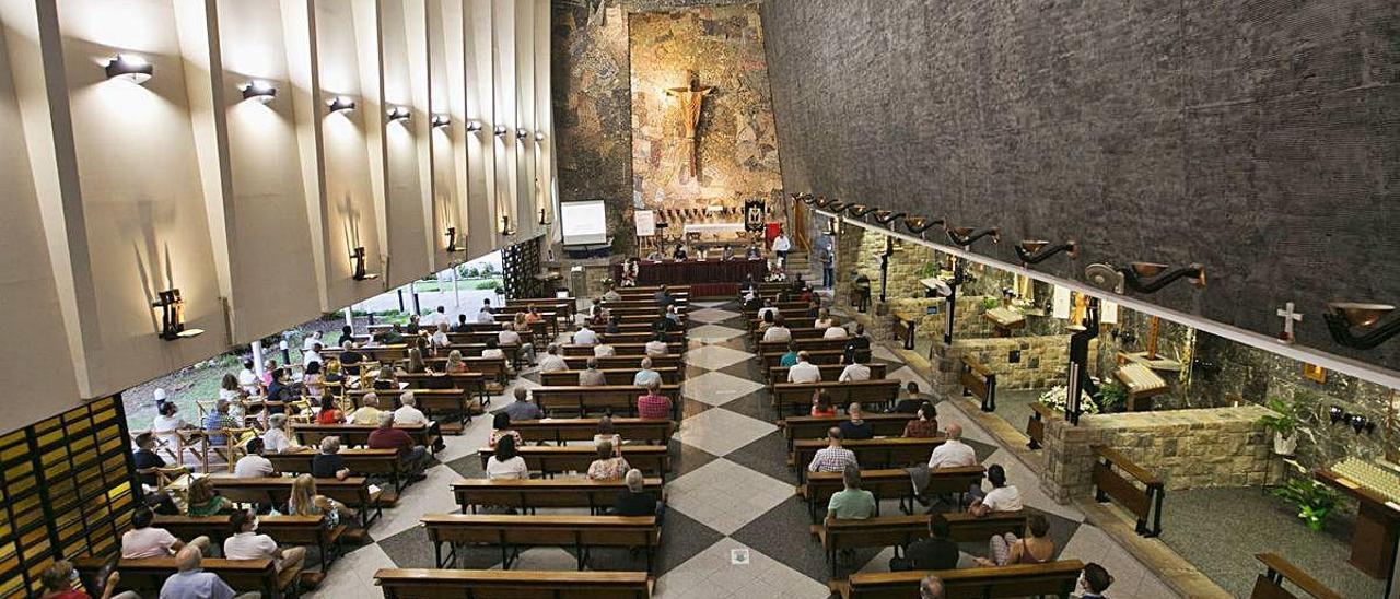 Gandia eleva a la máxima protección la iglesia símbolo de la apertura del Vaticano II
