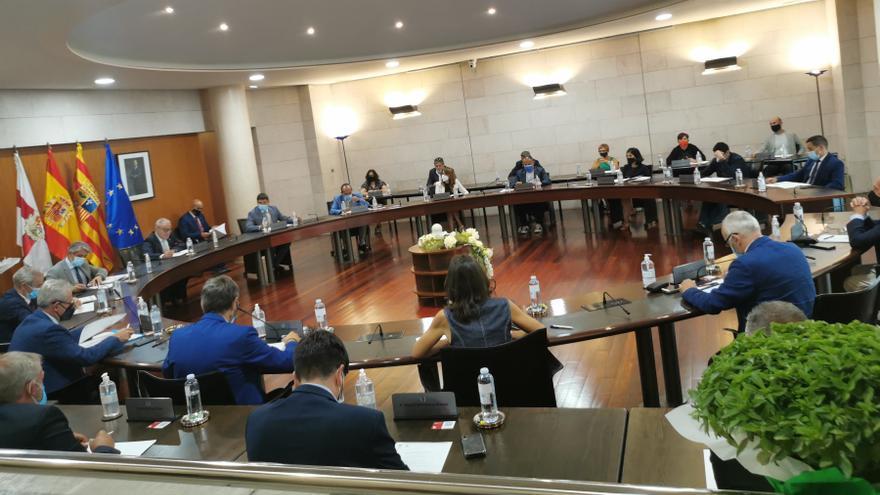 La DPH muestra su solidaridad con Candanchú
