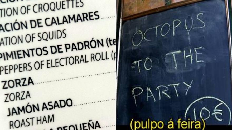 """Los """"Pimientos de Padrón que votan"""" y otras traducciones """"free-style"""" en Galicia"""