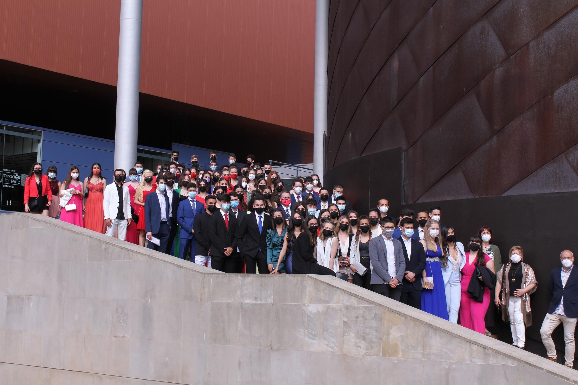 Graduación en el IES Montevil