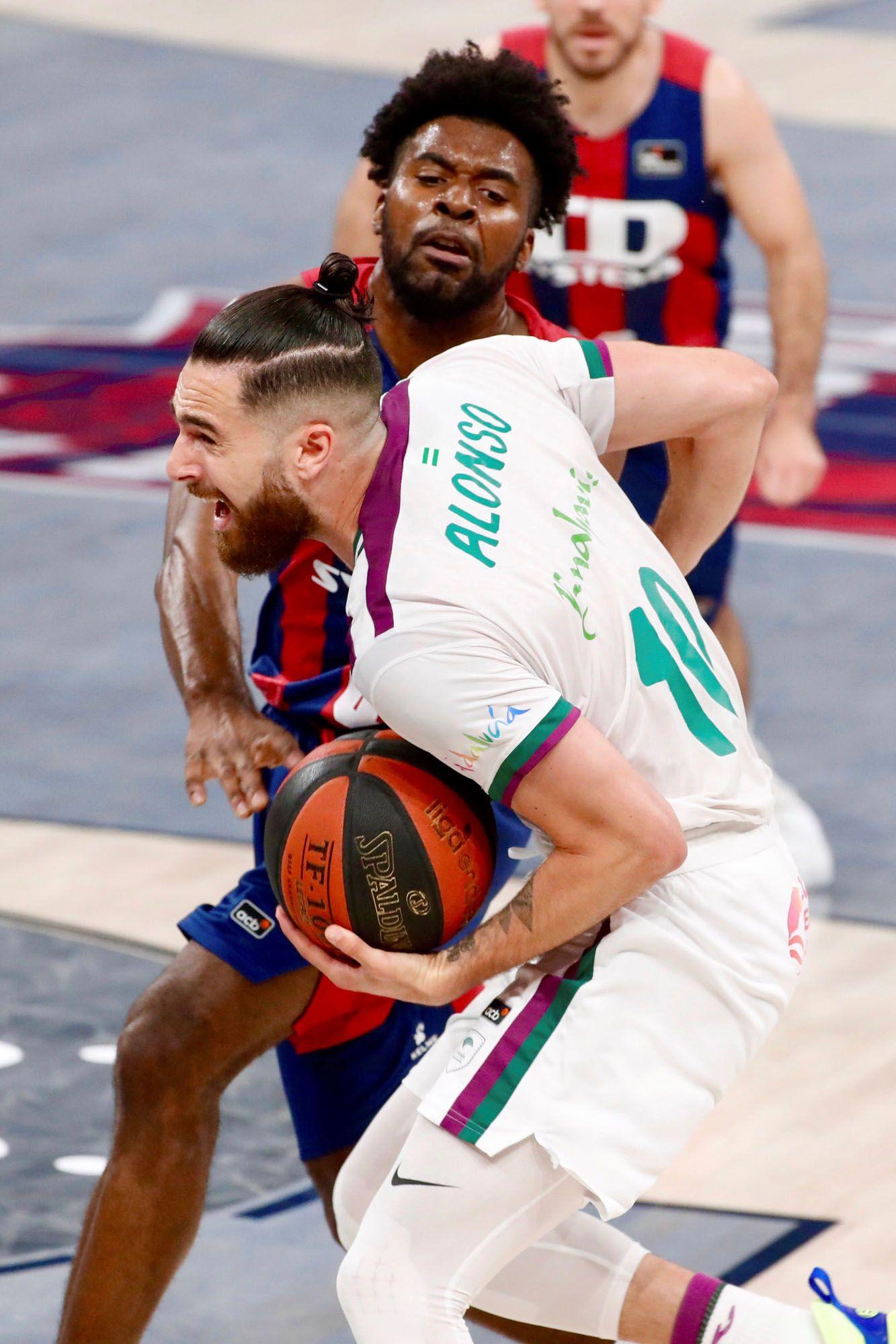 Las imágenes del Baskonia - Unicaja de la Liga Endesa.