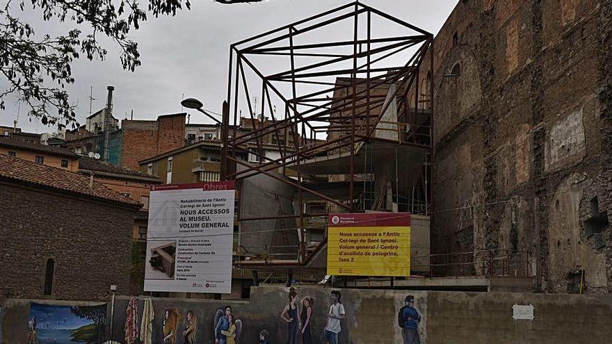 L'Ajuntament de Manresa té aturats tots els terminis urbanístics d'obres