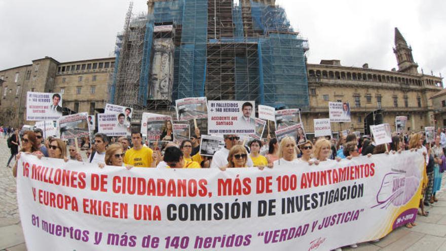 Las víctimas siguen clamando justicia cuatro años después de la tragedia de Angrois