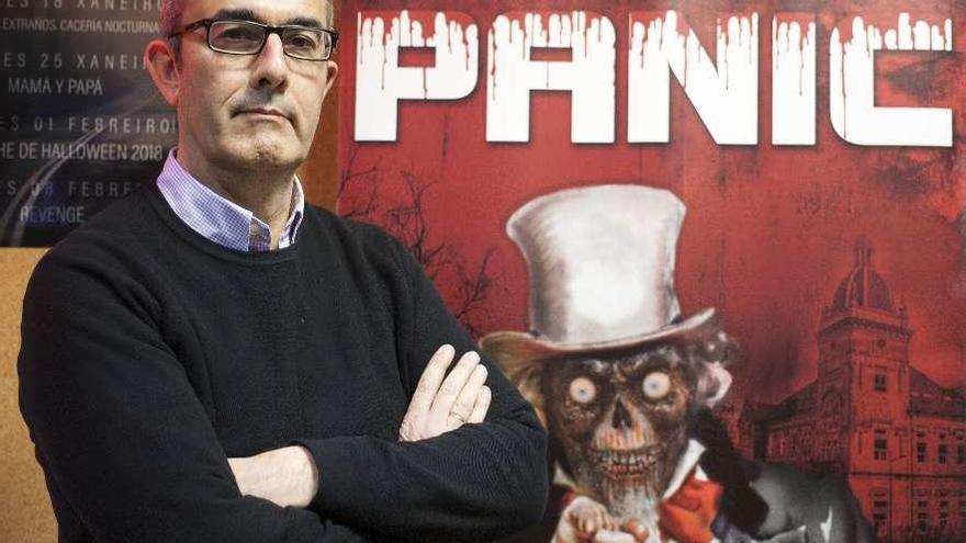 """Pedro Pérez: """"Nos gusta pasar miedo porque es algo que está dentro de nosotros"""""""