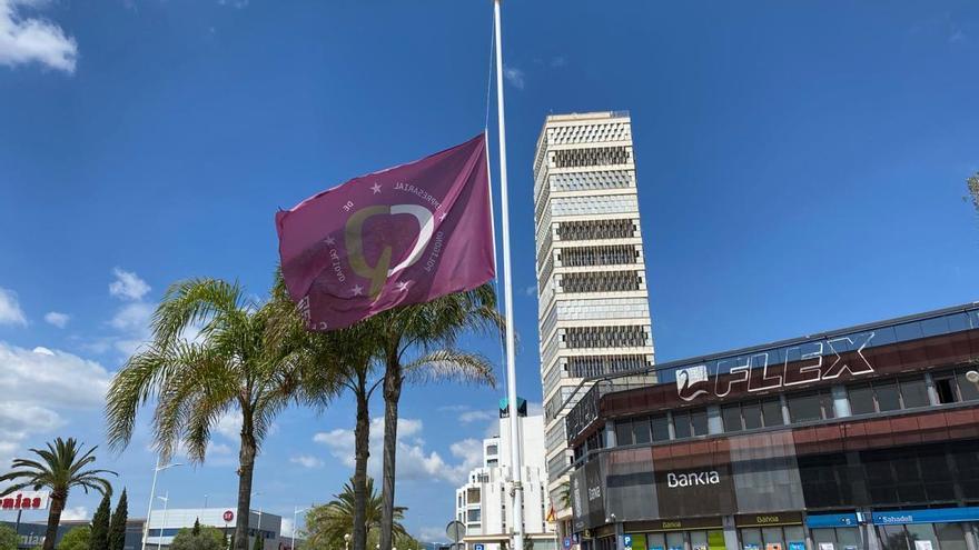 Los polígonos de CEPE ponen las banderas a media asta en señal de duelo por las víctimas