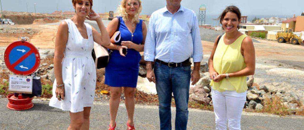 Mogán negocia con Lopesan una permuta para 200 viviendas sociales