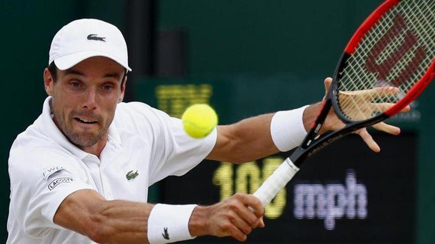 Bautista cede ante el croata Cilic y queda eliminado de Wimbledon
