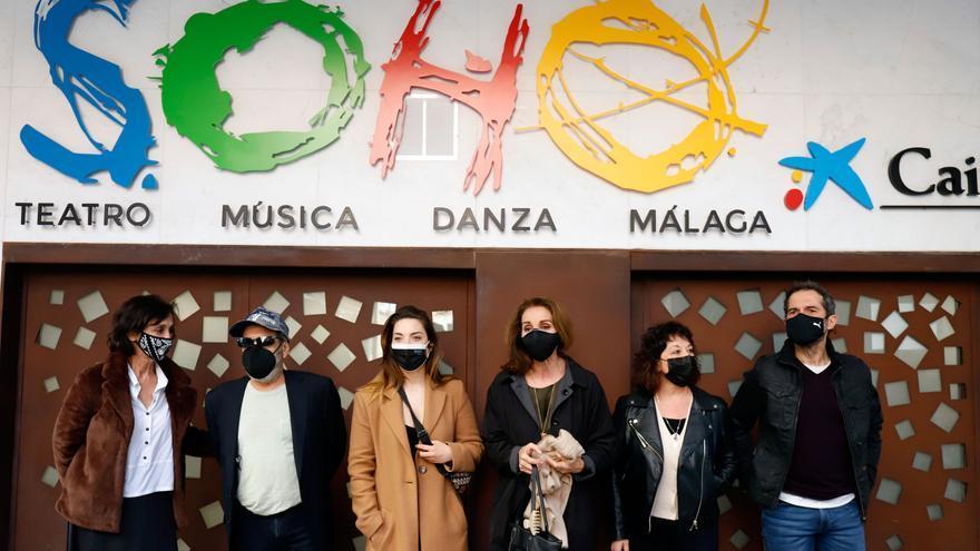 Presentación de 'Eva contra Eva' en el Teatro del Soho de Málaga