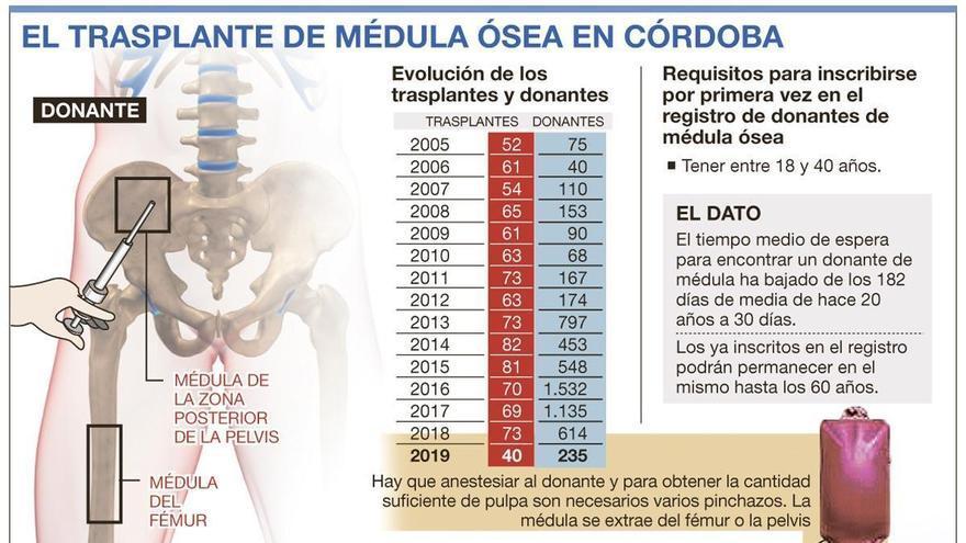 Córdoba suma en seis años 5.000 donantes nuevos de médula ósea